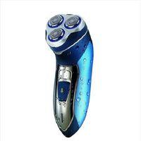 Wholesale ks rechargeable electric razor blade washable multi function three razor Men facial care tools Facial care razor
