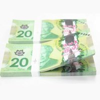 Wholesale 20 Canadian Dollar Notes Training Collect Learning Banknotes Paper Money