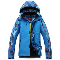 Wholesale Ski Jacket Men Skiing Clothing Waterproof Windproof And Thremal Fabric Windproof Climbing Snowboard Jackets