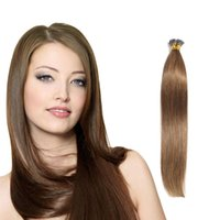 auburn products - 8A Unprocessed I Tip Hair Extensions Peruvian Silk Straight Hair g Stick Hair Product Pre Bonded I Tip