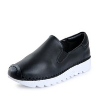 bands outings - Women Casual Shoes Ladies Comfortable Shoes New Fanshion Women Office Outing Shoe Ladies Flats Breathable Women Thick Base Shoes