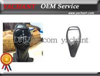 Wholesale Car Accessories Dry Carbon Fiber Gear Knob Cover Fit For F20 F22 F30 F35 F34 GT F32 Sport Version Gear Knob Cover