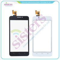 Wholesale High Quality quot For Huawei Ascend G630 Touch Screen Digitizer Sensor Front Glass Lens Black and White