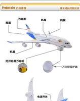 airs education - AIR BUS children sv gift model toys Aircraf modle Intelligence toys Learning Education Toys Gifts