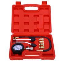 ad motor - Rapid Type Pressure Gauge Tester Kit Motor Auto Petrol Gas Engine Cylinder Compression Gauge Tester Tool Car Diagnostic Tool