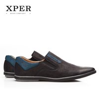 big blue rubbers - 40 Big Size XPER Brands Men Loafers Fashion Breathable Soft Men Flats Shoes Slip on Mixed Colors YM86833BN