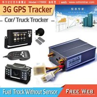 Wholesale 3G GPS Car Tracker G WCDMA Vehicle GPS Tracker Fuel Monitor Temperature