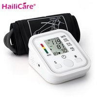 Wholesale Digital Upper Arm Blood Pressure Pulse Monitor Health Care Monitor Meter Sphygmomanometer Portable Blood Pressure Monitors