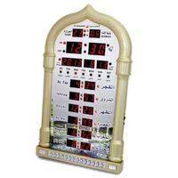 Wholesale BIG PROMOTION muslim azan wall clock azan prayer clock muslim clock Hijri and Gregorian calendarsComplete azan
