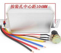 Wholesale 1PCS V V A DC Motor Speed Regulator Pulse Width Modulator PWM Control Switch Governor New