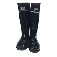 Wholesale WOMEN S Rainboots Tall Height Rubber Waterproof Wellies Rain boots Water Shoes with dust bag DHL free