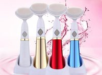 Wholesale Electric D Sonic Pore Facial Cleaner New Generation Korean Hot selling Facial Cleansinng with Brushhead Skin Care Face Cleaning