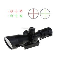 Wholesale 2 X40 Tactical Rifle Scope Red Laser Holographic Green Red Dot Sight F00471 BARD