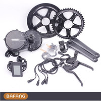 Wholesale Bafang V w C965 motor BBS02 crank Motor eletric bicycles trike ebike kits fun Fedex Shipping