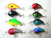 artificial proteins - 50pcs colors crank bait Fishing lures mm g hooks for fishing plastic crankbait artificial lure hard tackle protein