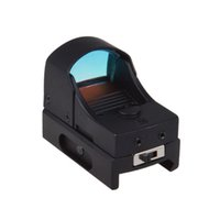 Wholesale Tactical Holographic Reflex Micro MOA Red Dot Sight w Picatinny Weaver F00025