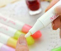 Wholesale Beauty Nail Art Polish Corrector Pen Remove Remover Cleaner Mistakes Varnish Nail Polish Removal Pen Color Random