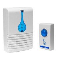 Wholesale Waterproof Wireless Door Bell LED Cord Song Music M Range Wireless Remote Control Home Door Bell Doorbell