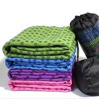 Wholesale Thick yoga shop towels lengthened slip yoga mat yoga shop towels absorbent fitness blanket
