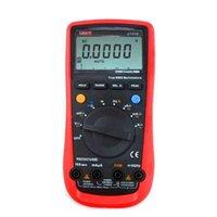 Wholesale UNI T UT61E Digital Multimeter auto range true RMS Peak value RS232 REL AC DC amperemeter uni t UT E multimeter