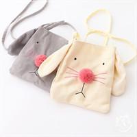 balls bunny - Sweet Baby Girls Backpack Bunny Ears Baby Bags Handmade Purse Kids Purses Handbags Girl Cartoon Bag Ball Baby Bag