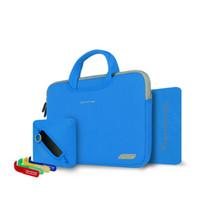 Wholesale Cartinoe Breath Series Laptop Case Printing Accessories handBag Nylon Lyc laptop bag for Macbook Air Pro inch