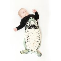 Wholesale Baby Kids Girls Fashion animal print Anti kick long sleeve sleeping t shirts Lovely Sleeping Bags