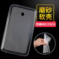 asus protect - Ultra Slim Soft TPU Gel Protector Shell Cover Tablet Protect Case For Asus FonePad FE170CG FE170 FE7010CG K012