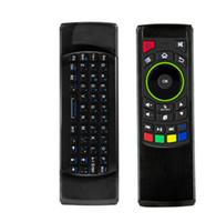 Télécommande pour tablette android France-FM5s mini clavier sans fil Six Axis Gyroscope 2,4 GHz Air souris clavier Remote Control IR apprentissage pour Android TV Box Tablette PC MXQ PRO M8S