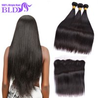 aliexpress lace closure - Peruvian Straight Hair Bundles with Lace Frontal Ear to Ear Lace Frontal Closure with Bundles Aliexpress Virgin Human Hair