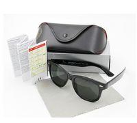 Wholesale High quality Brand Designer Fashion Men Sunglasses UV Protection Beach Vintage Women Sun glasses Retro Eyewear With box and cases