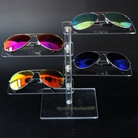 acrylic sunglass display - High Quality Acrylic Layer Sunglass Display Rack Shelf Jewelry Display Stand Desktop Necklace Bracelet Holder Watch Showcase