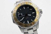 ag batteries - Hot Sale Quartz Cute Men s Watch Black Face Gold Bezel Stainless Steel Band Since AG Male Watch Free Ship