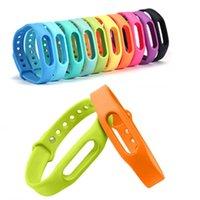 Wholesale 3Pcs Colorful Silicone Xiao mi Wrist Band Bracelet Wrist Strap For Xiaomi Miband Mi band S Smart Band