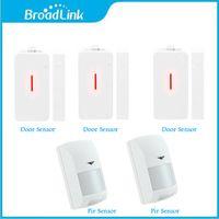 Wholesale Broadlink Mhz Wireless Door Sensor Detector Infrared PIR Motion Sensor for Smart Home S1 S1C Smartone Alarm System