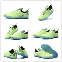 pvc snake leather - 2016 New Arrival Retro kobe KB Green Snake Men s Basketball Shoes for Top quality KB XI s Sports Sneakers Size