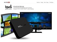 Wholesale RK3229 MXQ k TV Box Android KODI Fully Loaded H K tps P HD Streaming Media Player TV Boxes Remoted MXQ Smart Rockchip