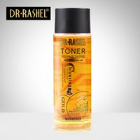 Wholesale DR RASHEL Original authentic moisturizing gold toner soothing skin firmness brighten skin tone makeup before the water DHL free
