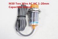 ac proximity sensor - M30 Two Wire AC NC mm distance measuring capacitive proximity switch sensor LJC30A3 H J DZ