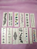 Wholesale Sheet Trendy Waterproof Small Fresh Pattern Tattoo Stickers Photo Color Charming