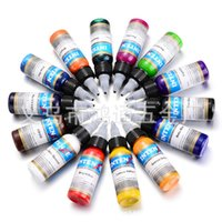Wholesale The tattoo machine material full set of domestic color tattoo color suit ml