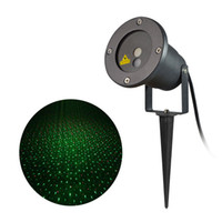 Wholesale 8in1 in1 Christmas Snowflake Patterns Projector Lamp Waterproof IP65 Red and Green Projector Outdoor Garden laser Star lights