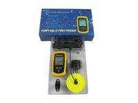 Wholesale high quality FISHFINDER Portable Sonar Sensor Fish Finder New Echo sounder depth Alarm for fisher