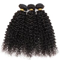 Wholesale Vinsteen cheap Different Size Natural Color Unprocessed Full Cuticle Human Hair Weaves Kinky curly Hair Wefts can be straightened
