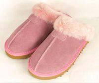 australian slippers - HOT Australian brand Warm cotton slippers Men And Womens slippers Short Boots Women s boots Snow boots Indoor cotton slippers