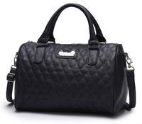 bag sewing patterns - Vehicle sewing thread lozenge pattern pillow bags leisure handbags Shoulder Crossbody Bags