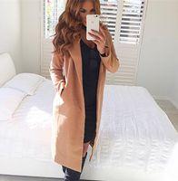 Cheap Women jacket Best Fashion Lapel Neck female coat