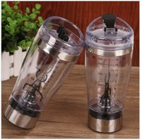 automatic electric kettle - Electric protein shaker blender my water bottle automatic movement vortex tornado ml bpa free detachable smart mixer cup