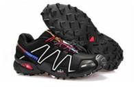 al por mayor nueva llegada de la venta caliente-2017 La venta caliente Speedcross 3 nuevos hombres de la llegada rastro corriendo del rastro de los hombres que compite con los zapatos al aire libre el zapato corriente a campo través.