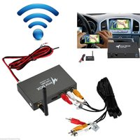 Wholesale Car Wifi Mirror Box GPS Navigate Android iOS Airplay Miracast DLNA AUX Interface Car WI FI Mirror Link